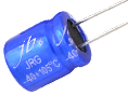 JRG -  10000H at 105°C, Leaded Radial Aluminum Electrolytic Capacitors